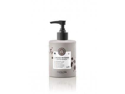 Maria Nila Colour Refresh Cacao Intense 4.10 300 ml  + Jednorázové rukavice na barvení zdarma + Vzorek šamponu Maria Nila