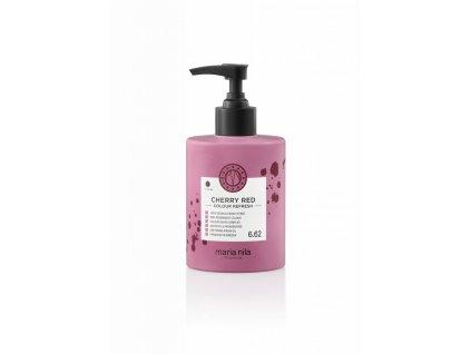 Maria Nila Colour Refresh Cherry Red 6,62 300 ml  + Jednorázové rukavice na barvení zdarma + Vzorek šamponu Maria Nila