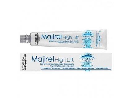 L'Oréal Professionnel - Barva na vlasy Majirel High Lift 50 ml (Odstín Majirel High Lift Gold Iridescent)