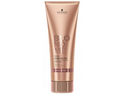 3819 schwarzkopf professional blondme tone enhancing bonding shampoo warm blondes 250 ml