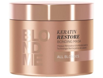 3831 schwarzkopf professional blondme keratin restore bonding mask all blondes 200 ml