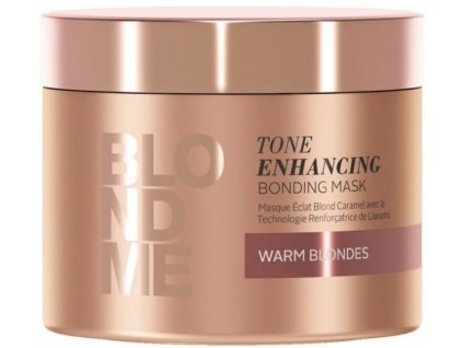 3834 schwarzkopf professional blondme tone enhancing bonding mask warm blondes 200 ml