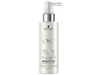 4278 schwarzkopf bc bonacure scalp genesis self warming detox prep treatment 100 ml
