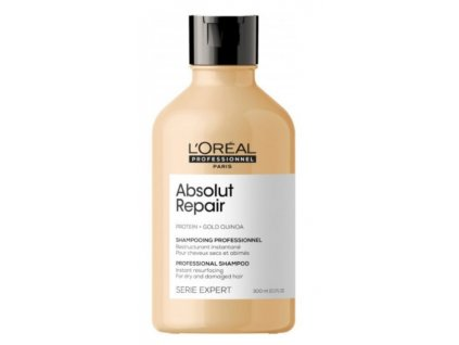 L'Oréal Professionnel Serie Expert Absolut Repair Gold Quinoa+Protein Shampoo 300ml