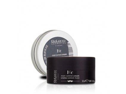 Salerm Homme Controle Creme matující krém na vlasy 50 ml