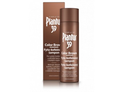 vyr 1975 Plantur 39 Color Brown Fyto kofeinovy sampon 250 ml