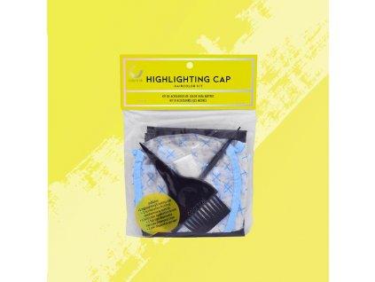 Colortrak - Highlighting Cap Hair Color Kit - Melírovací sada