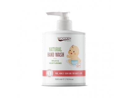 Wooden spoon tekuté mýdlo pro děti