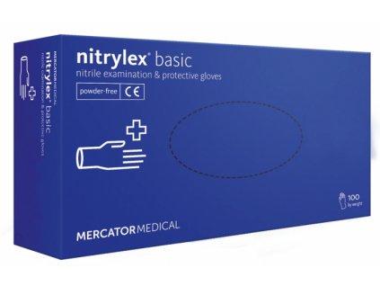 MercatorMedical Nitrilove rukavice M