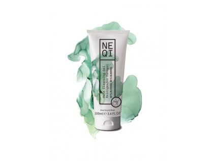 Neqi hand cleansing gel aloe vera shea 100ml