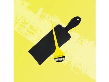 Colortrak - Balayage Board & Brush - Štětec a lopatka na Balayage - sada