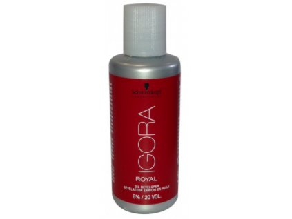 Schwarzkopf Professional Igora Royal Oil Developer 6% 60 ml
