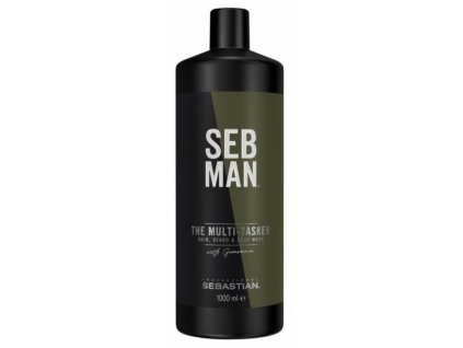 Sebastian professional Sebman THE MULTITASKER 3 IN1 BEARD, HAIR & BODY WASH 1000 ml