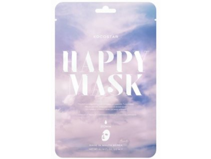 Kocostar pleťová maska Camellia Happy Mask 23 ml