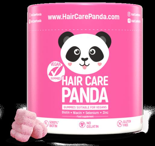 Hair Care Panda Vegan Gummies - vitamíny na vlasy 60 ks