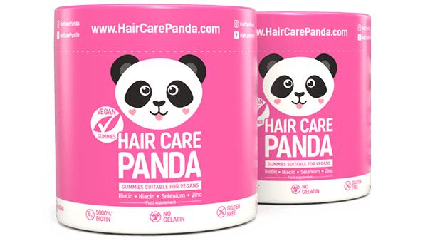Hair Care Panda Vegan Gummies - vitamíny na vlasy 2 x 60 ks