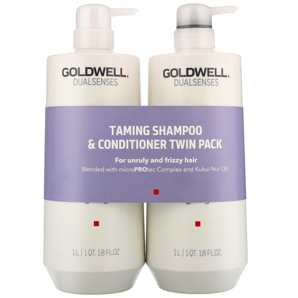 Goldwell Dualsenses Just Smooth Shampoo & Conditioner Twin 2x1000ml