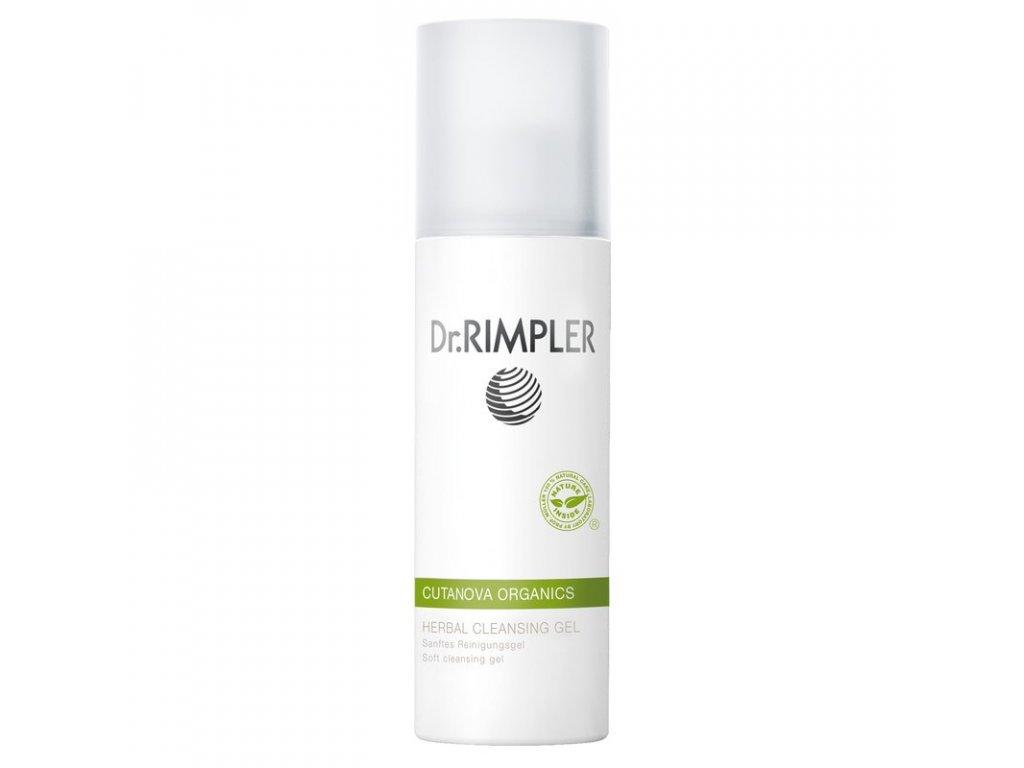 dr rimpler cutanova organics herbal cleansing gel 200ml