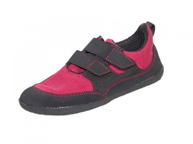 Puck red ankle li