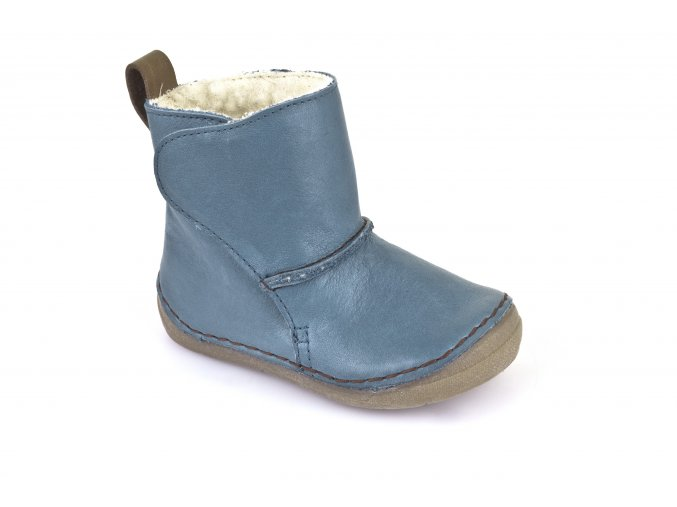 Boots denim, 100% fur