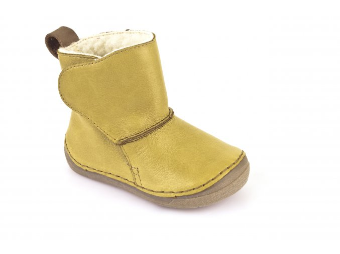 Boots Yellow, 100% fur