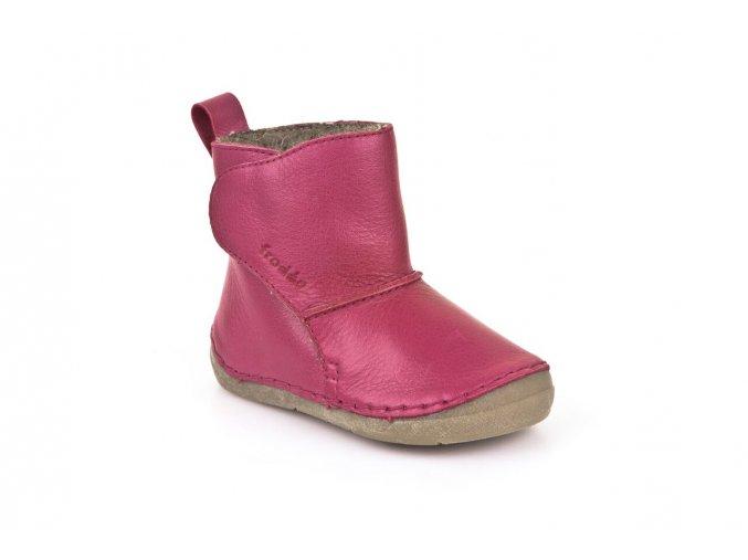 Boots Fuxia, 100% fur
