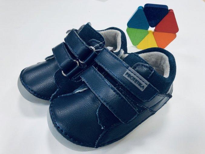 Protetika Barefoot Ned Navy (Veľkosť 26)
