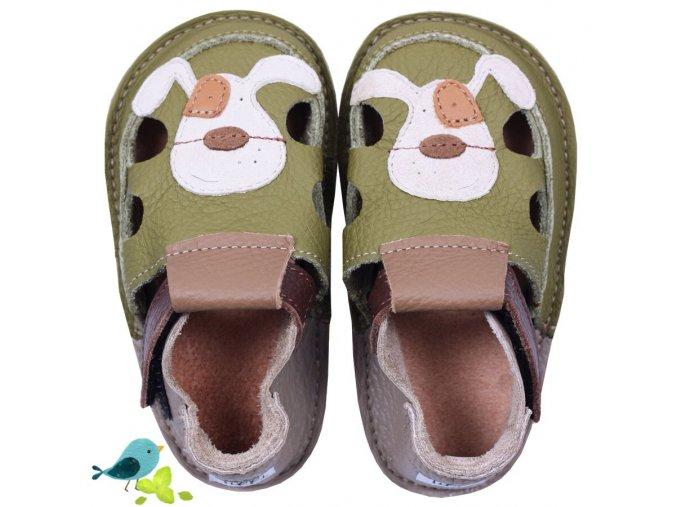 Sandals Smiley Puppy