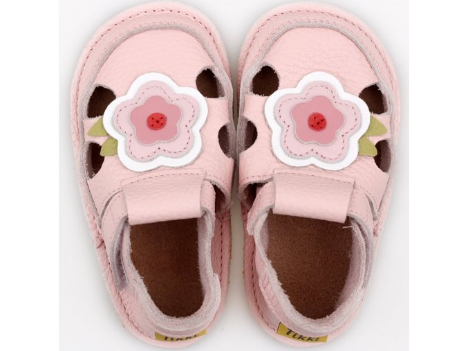 Sandals Pink Flower
