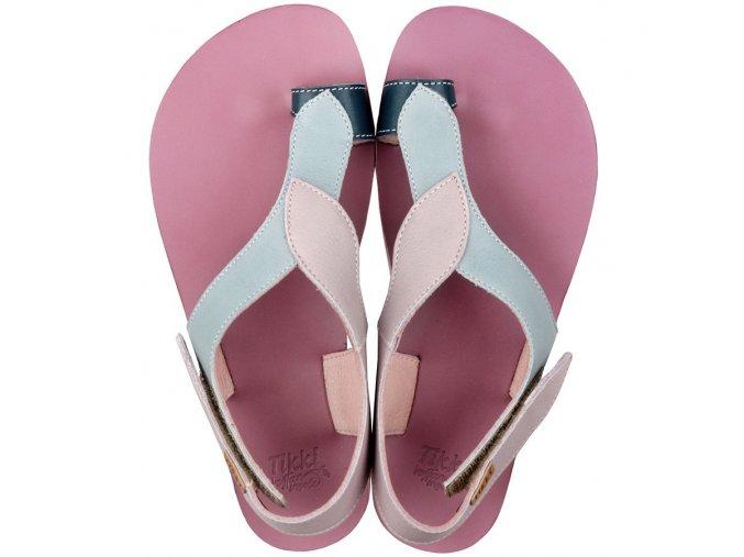 funky soul barefoot women s sandals blueberry 15744 4
