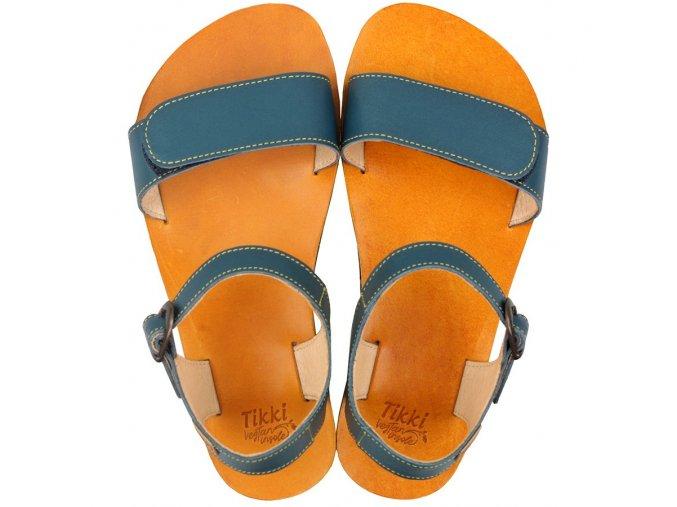 vibe barefoot women s sandals petrol blue 16144 4