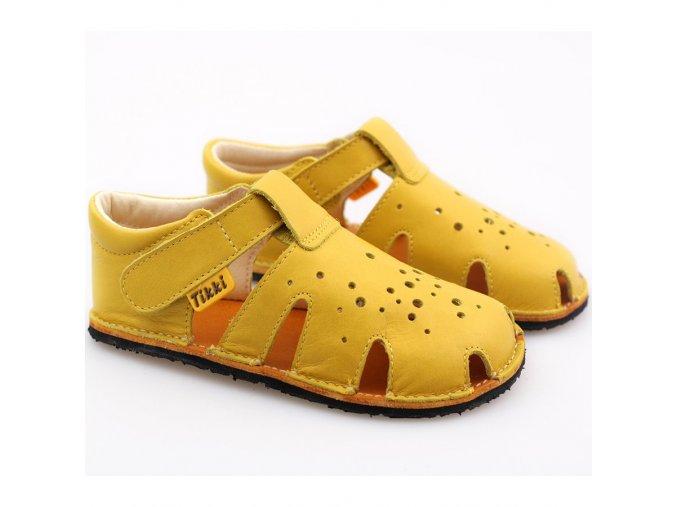 barefoot sandals aranya lemon 19 23 eu 6759 4