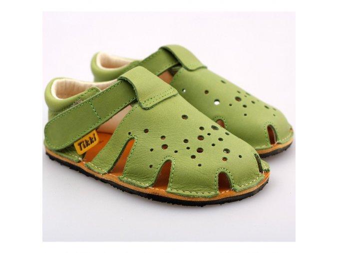 barefoot sandals aranya lime 19 23 eu 6729 4