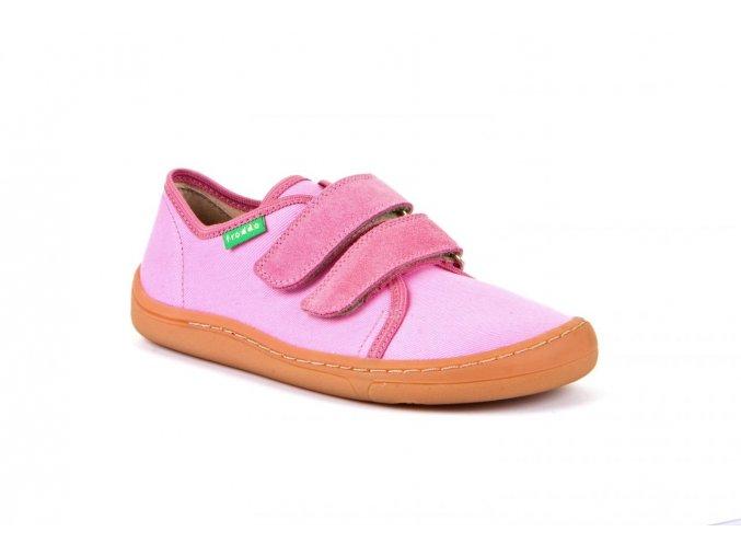 Froddo Barefoot sneakers Pink canvas