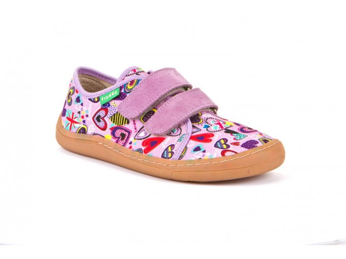 Froddo Barefoot sneakers Lilac canvas
