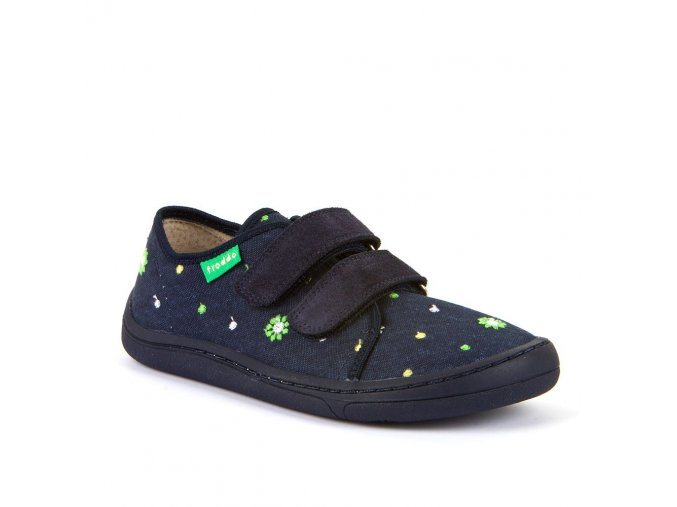 Froddo Barefoot sneakers Blue canvas