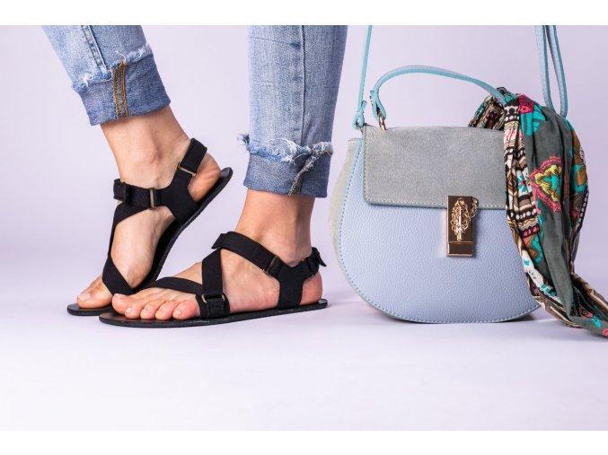 Barefoot sandals Be Lenka Flexi - Black