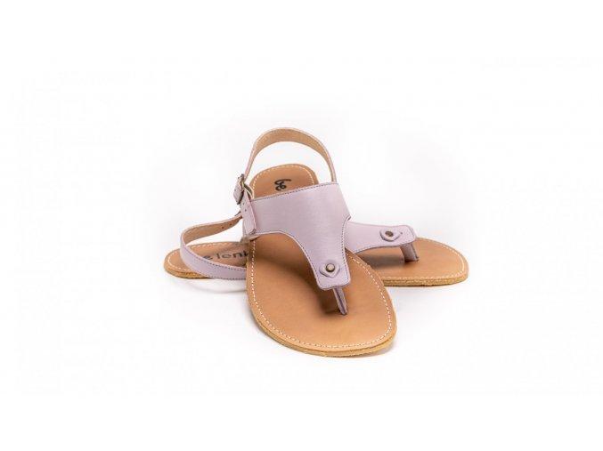 Barefoot sandals Be Lenka Promenade - Light Lilac