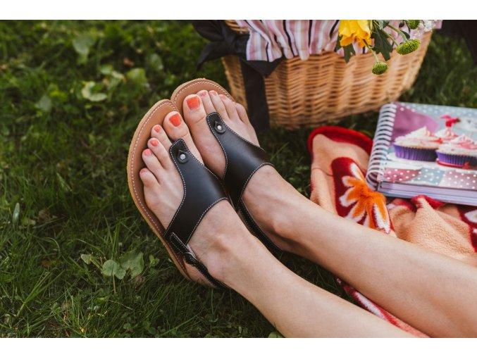 Barefoot sandals Be Lenka Promenade - Black