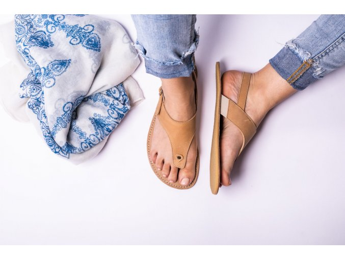Barefoot sandals Be Lenka Promenade - Sand