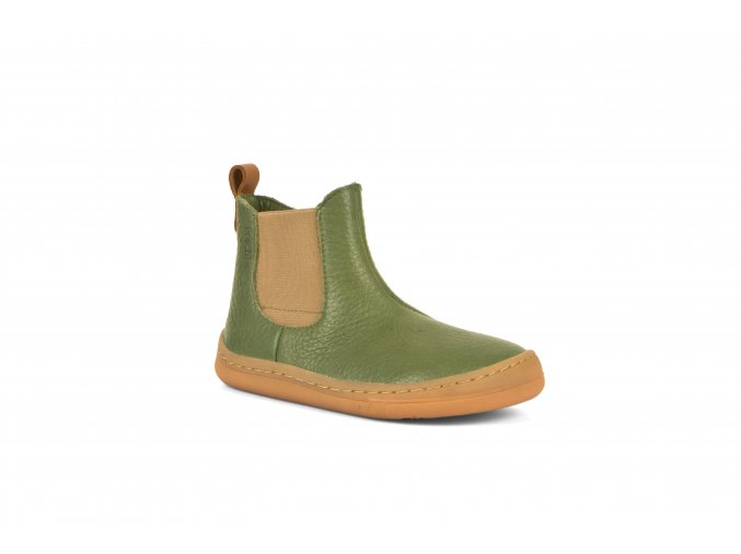 Froddo Barefoot Chelsea boots Olive (Size 40)
