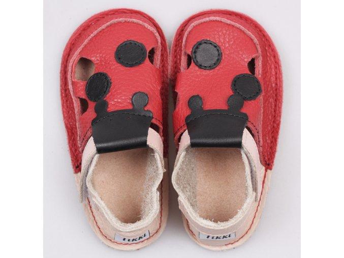 Sandals Ladybug