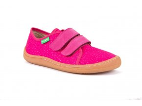 Froddo Barefoot sneakers Fuchsia canvas
