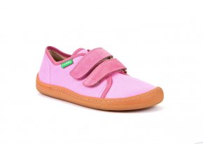 Froddo Barefoot sneakers Pink canvas