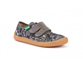 Froddo Barefoot sneakers Grey canvas