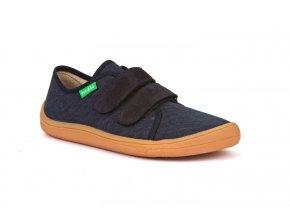 Froddo Barefoot sneakers Dark Blue canvas