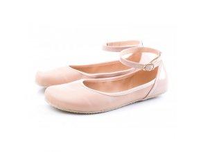 TULIP II Nude barefoot ballerinas, Wide