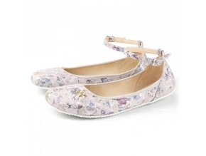 TULIP II Flowers barefoot ballerinas, Wide
