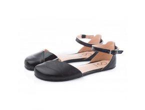 Barefoot sandals POPPY II Black, Normal