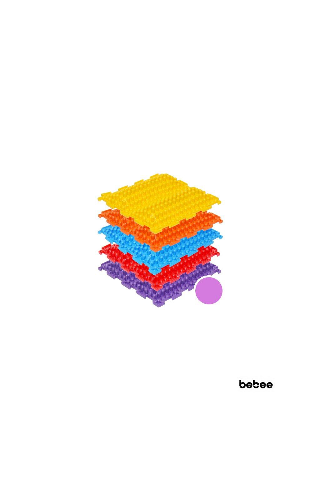 masazne koberceky novavlna tvrde fialova